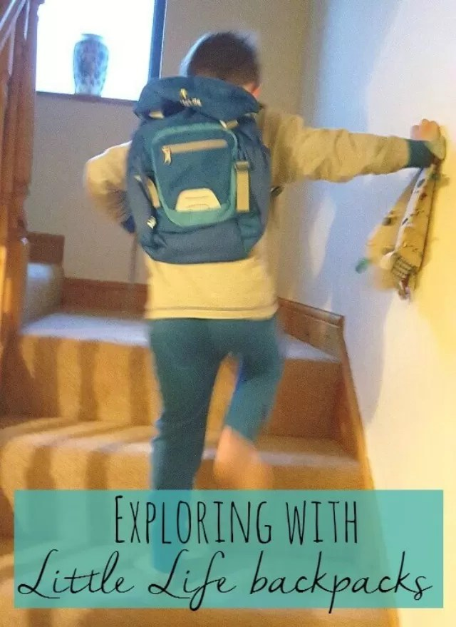 Exploring with Little Life backpacks review - Bubbablue and me