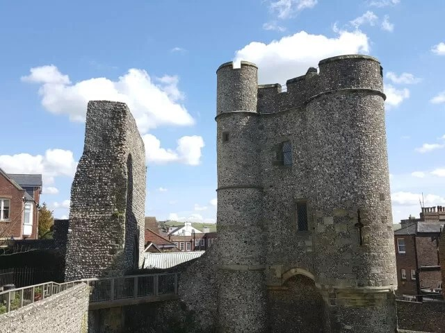 lewes castle tower