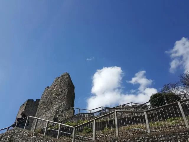lewes castle walkway