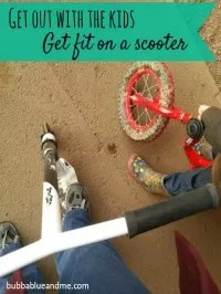 scooting to get fit