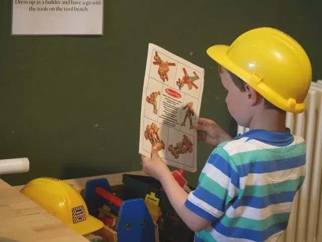 building play at croome park activity room