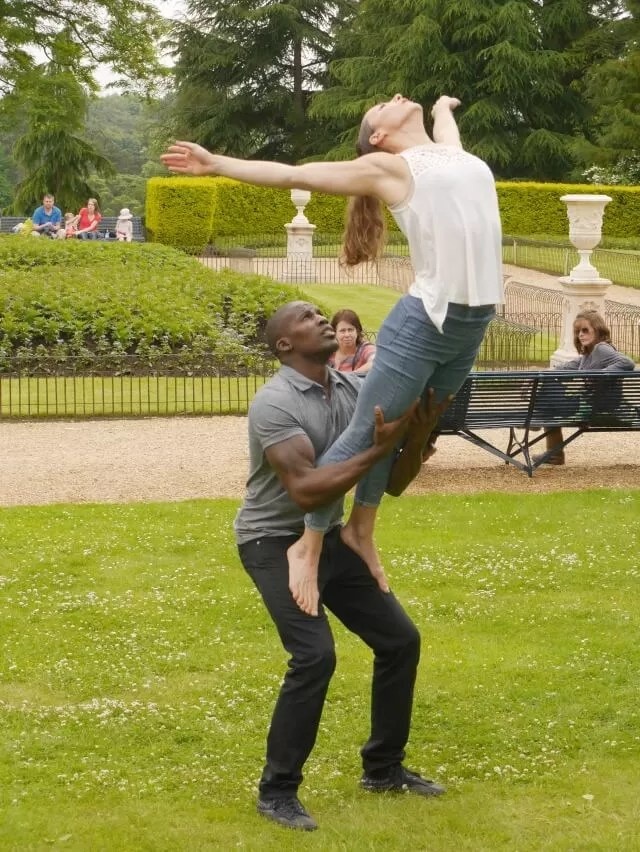lift from Lost Motionhouse - Feast at Waddesdon
