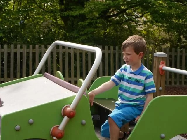 playground car at croome park