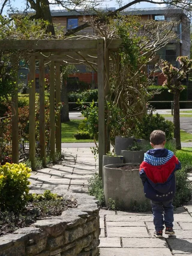 sensory garden in Henley on thames