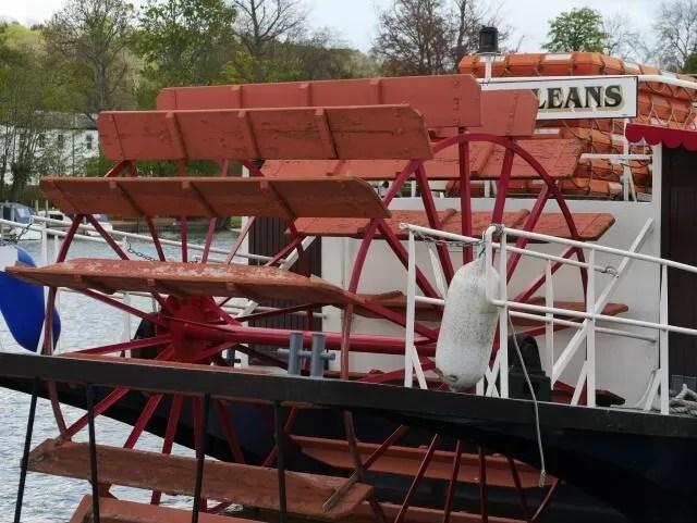 steamer boat in Henley