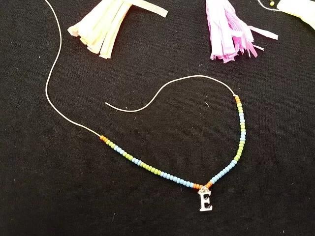 bracelet made at blogtacular
