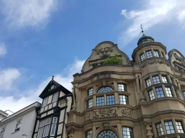 buildings in Oxford city centre