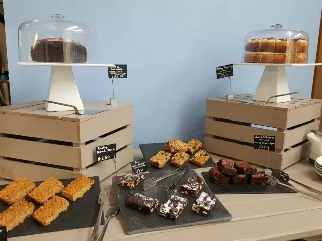 cakes at Castleyard Cafe Oxford
