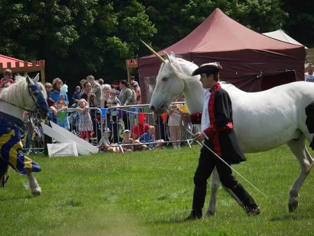 unicorn show at Geronimo festival