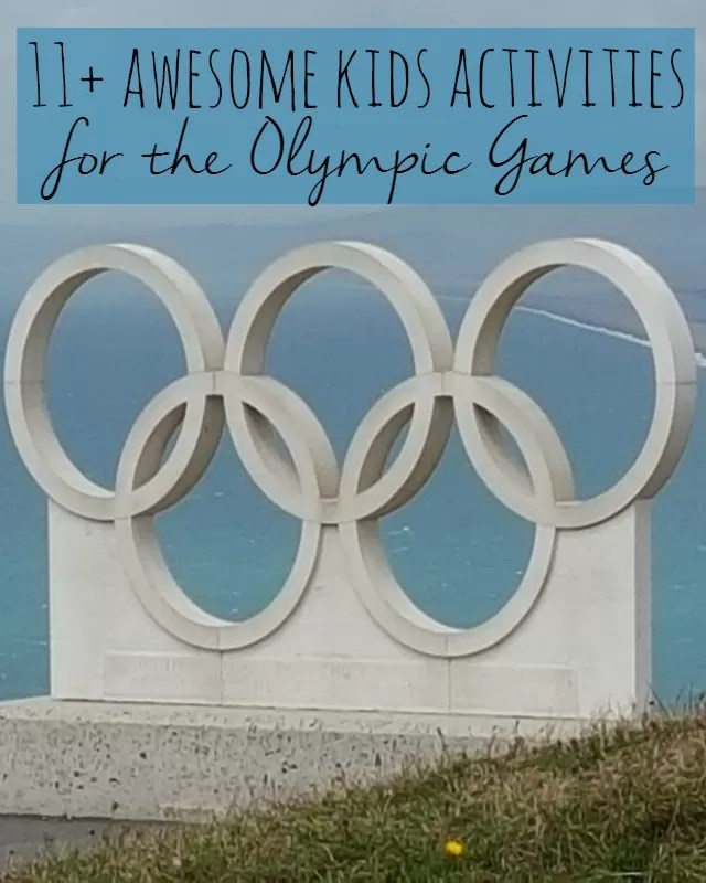 11 easy kids activities for Rio Olympic Games - Bubbablue and me