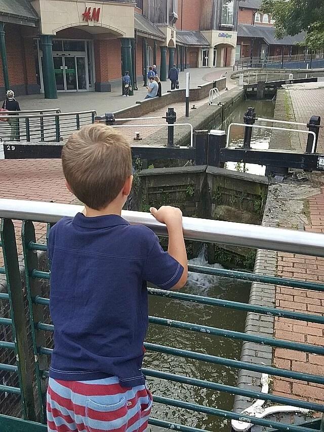 Checking out Banbury locks