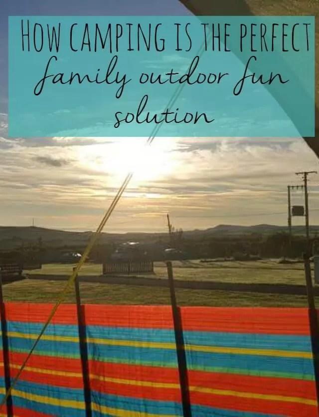 camping outdoor fun solution
