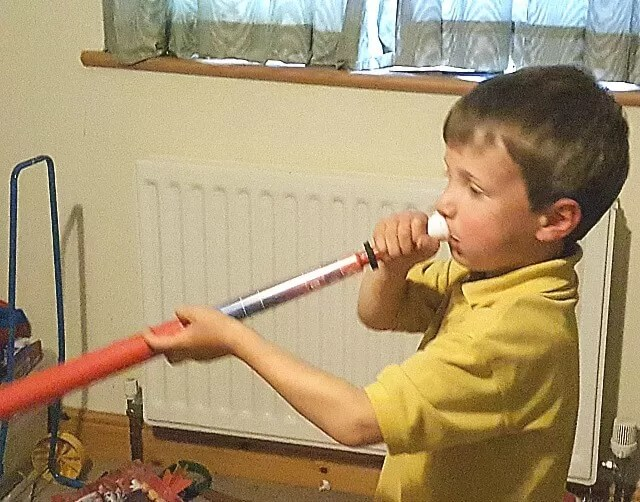 Playing music with the pbuzz musical instrument