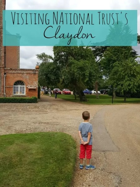 Visiting National Trust Claydon - Bubbablue and me