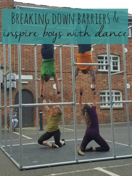 breaking down dance barriers and inspiring boys - Bubbablue and me