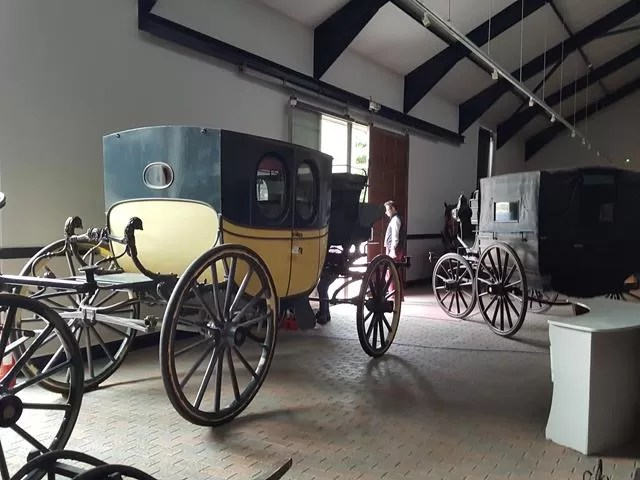 carriage museum at Arlington court