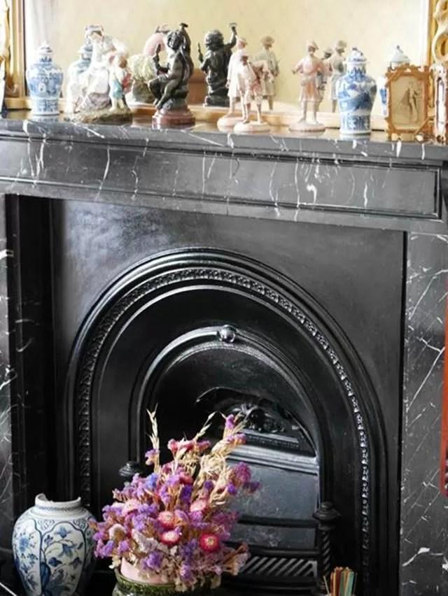 fireplace at Arlington Court