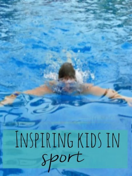 inspiring children in sport - Bubbablue and me