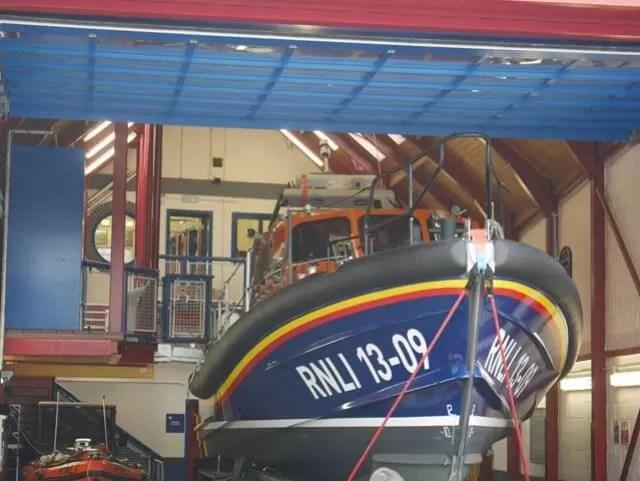 lifeboat at Ilfracombe