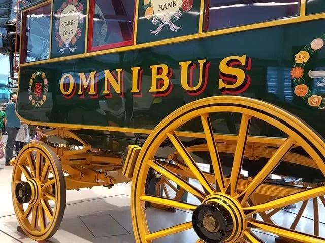 omnibus at London Transport Museum