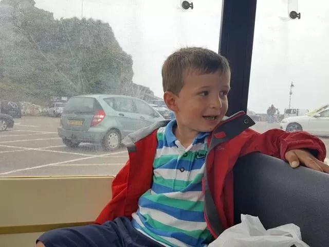 riding on the ilfracombe land train