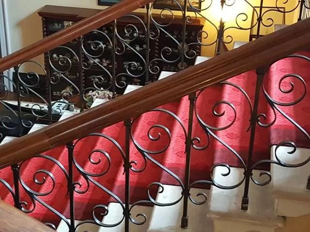 staircase at Arlington Court