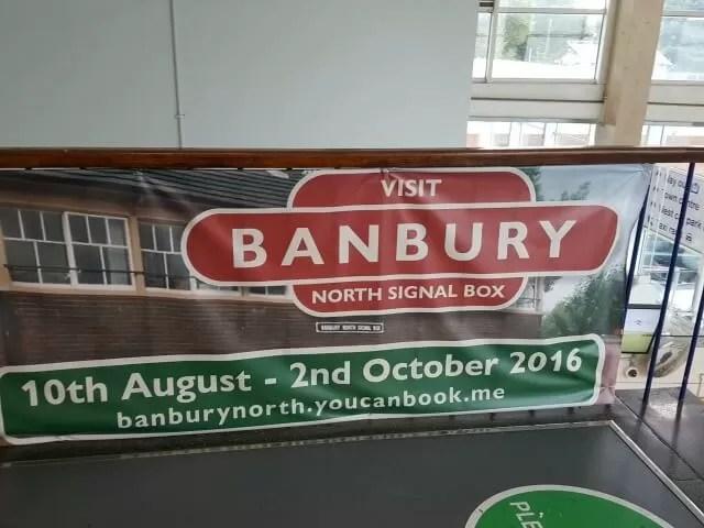 Open day tours Banbury north signal box