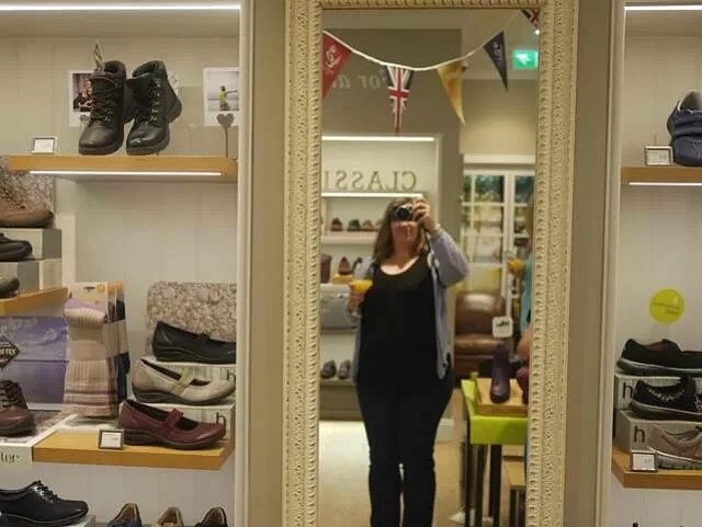 Hotter shoes blogger event in Banbury