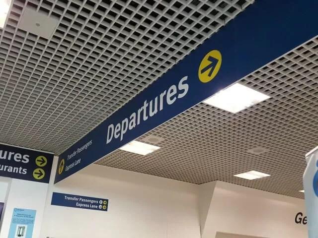 birmingham departures