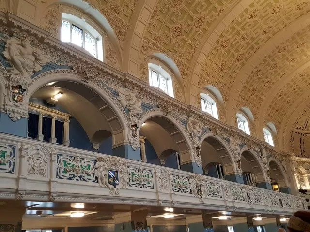 arches in oxford town hall