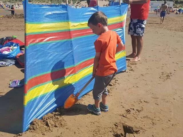 digging in windbreaks