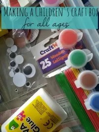 kids craft box