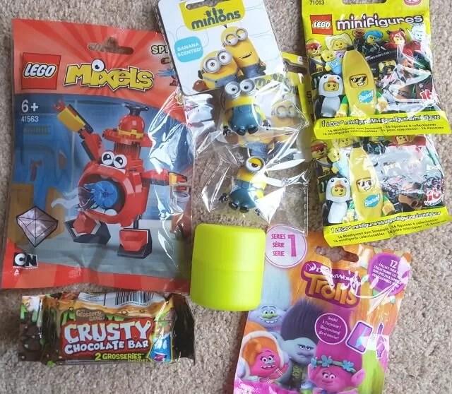 blind bags as kids rewards