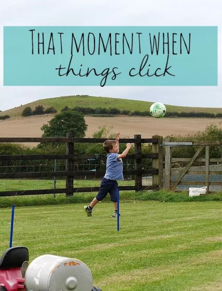 that moment when things click