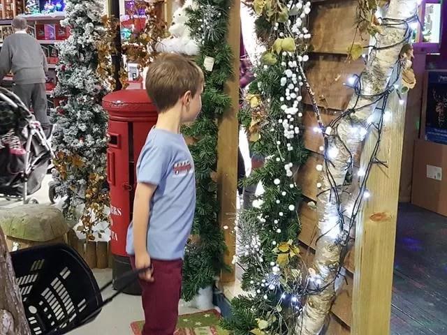 checking out santas postbox