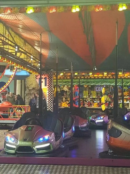 dodgems ride at Banbury fair