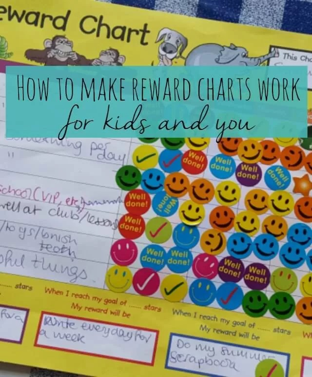 how to make a reward chart work - Bubbablue and me