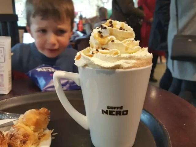 praline caffe nero hot chocolate