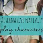 Alternative Christmas nativity play and characters