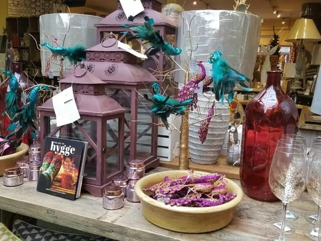 Vanilla hill shop display