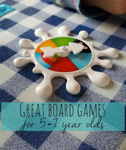 3 great board games for 5-7 year olds - Bubbablue and me