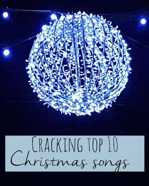 Cracking top 10 christmas songs - Bubbablue and me