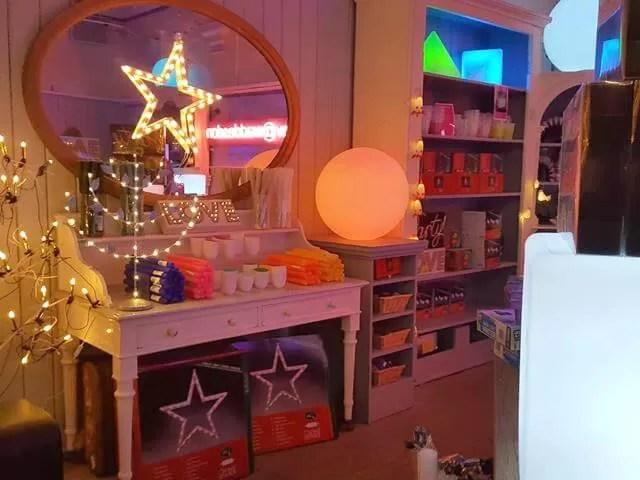 glow at waddesdon shop