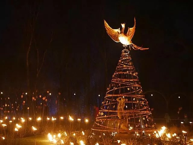 phoenix and the flames lights at blenheim