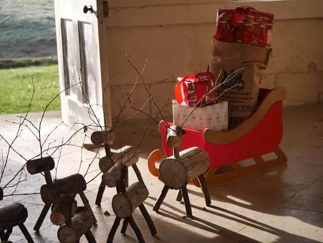 12 days of advent Santa's sleigh