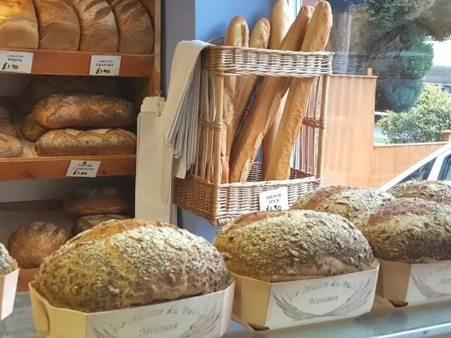 french bakery display