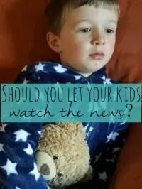 kids watch the news