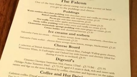 Eating out at The Falcon, Warmington – review