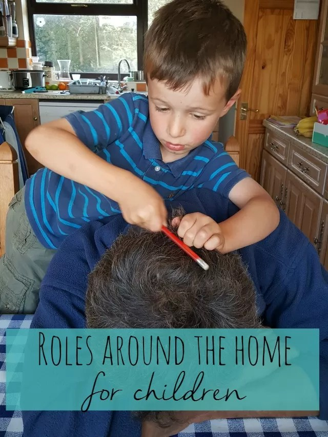 hairdressing and head rub - Bubbablue and me