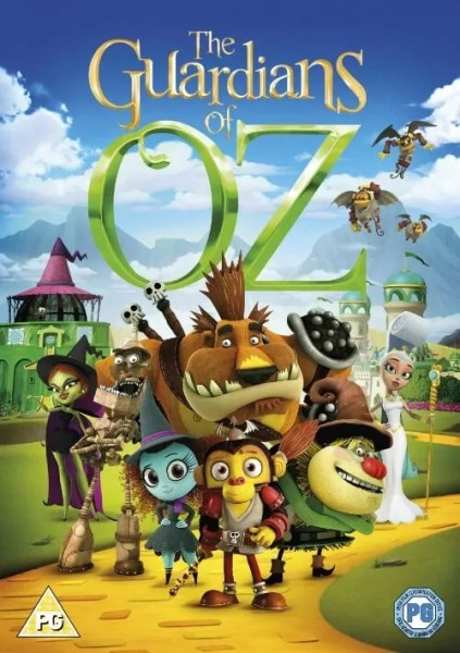 Guardians of Oz DVD